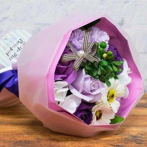 【お花の入浴剤バスフレグランスソープ】ミックスブーケ[size L]