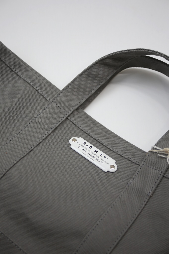 R&D.M.co アール&ディーエムコー CANVAS TOTE BAG S キャンバストートバッグ小