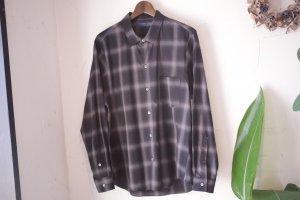 semoh - ombre check shirt