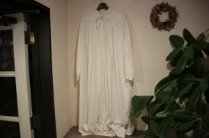 LILY1ST VINTAGE - Late 1800's French Church Smock Dress