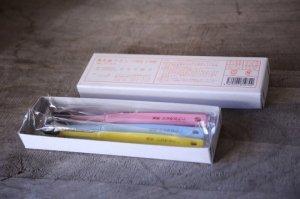 かなや刷子 - 馬毛歯ブラシ 子供用(3本セット)