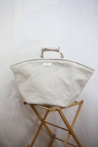 R&D.M.Co- - LINEN CANVAS MARCHE BAG (Large)