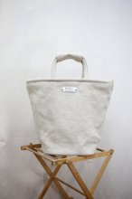 R&D.M.Co- - LINEN CANVAS MARCHE BAG (Tall)