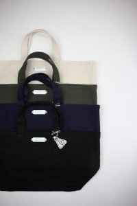 R&D.M.Co- - CANVAS TOTE BAG(L)