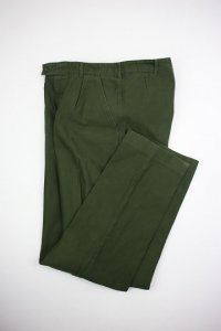 1970's Swedish Military Utility Tuck Trousers