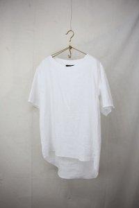 semoh - crew neck linen shirt(Mens)
