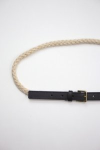 R&D.M.Co- - CANVAS LINEN ROPE BELT