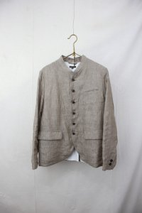 R&D.M.co- - CHAMBRAY STAND COLLAR JACKET(Ladies)