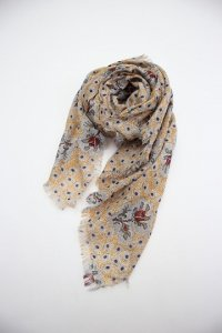 R&D.M.co- - NURSERY PRINT GAUZE SHAWL(Ladies)