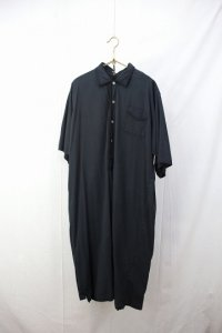 cotton long shirt S/S