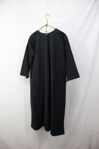 early 20th L/S Linen dress