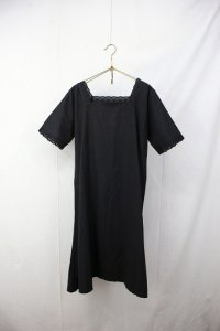 <img class='new_mark_img1' src='https://img.shop-pro.jp/img/new/icons8.gif' style='border:none;display:inline;margin:0px;padding:0px;width:auto;' />early 20th S/S Cotton Linen dress