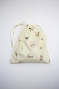 R&D.M.co- - CIRCUS DRAWSTRING BAG  L