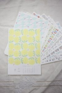 admi - カレンダー2021 A4サイズ
