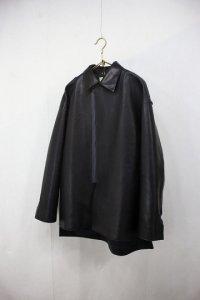 semoh - Leather ZIP blouson(Mens)