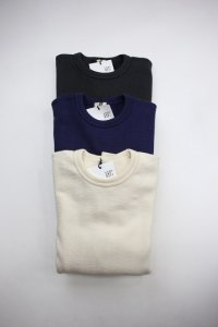 LOOP&WEFT - ヴィンテージカノコ ジャガード裏毛スウェットシャツ(Mens)