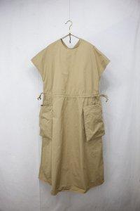 R&D.M.co- - GARMENT DYE POCKET DRESS(Ladies)