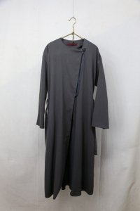 <img class='new_mark_img1' src='https://img.shop-pro.jp/img/new/icons8.gif' style='border:none;display:inline;margin:0px;padding:0px;width:auto;' />semoh - Collarless Coat(Ladies)