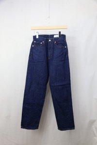 HARi - LOOSE STRAIGHT DENIM PANTS(Ladies)
