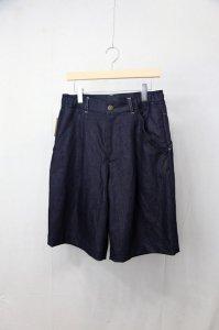 ASEEDONCLOUD / HW wide shorts - Denim(Mens)