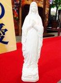 ルルドの聖母マリア像 白像 32cm