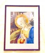 額入り聖画 聖母マリア