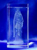 《1点限り☆》3Dクリスタルガラス 聖母子像