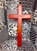 木製 十字架 壁掛け