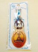 長崎 革キーホルダー 聖母像 (カラー:ブラウン)