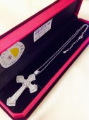 BOX付き☆ 十字架ネックレス シルバー