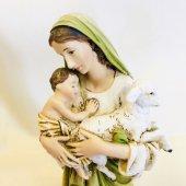 聖母子像(グリーン)