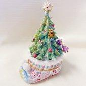 クリスマスツリー キャンドルスタンド(ブーツ型)