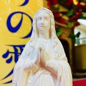 ルルドのマリア 聖像(19cm:白色仕上げ)
