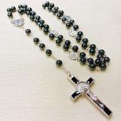 ヘマタイト ベネディクト 十字架ロザリオ