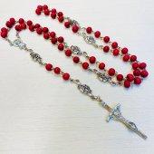 《バラの香りつき》十字架ロザリオ