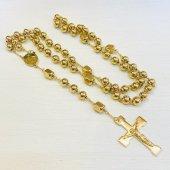 ゴールド十字架ロザリオ