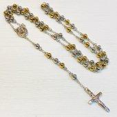 ゴールド×シルバー 十字架ロザリオ
