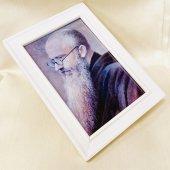 聖コルベ神父 額縁 ホワイト