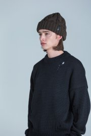 <img class='new_mark_img1' src='//img.shop-pro.jp/img/new/icons13.gif' style='border:none;display:inline;margin:0px;padding:0px;width:auto;' />CTIM×CA4LA / CABLE KNIT CAP