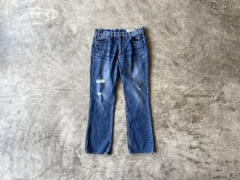 <img class='new_mark_img1' src='https://img.shop-pro.jp/img/new/icons20.gif' style='border:none;display:inline;margin:0px;padding:0px;width:auto;' />PRAIRIE BOOTCUT JEANS AGED C/P 13oz DENIM