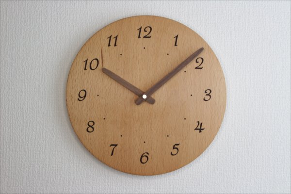 掛け時計 直径24cm Wa24AR-16