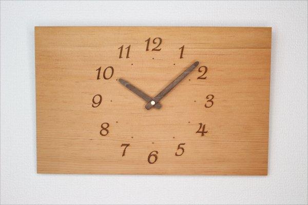 四角い掛け時計 幅36cm Wa36AB-22