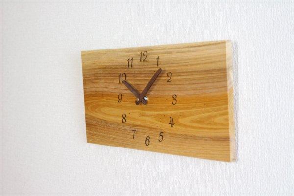 四角い掛け時計 幅36cm Wa36AB-20