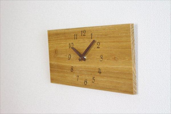 四角い掛け時計 幅36cm Wa36AB-19