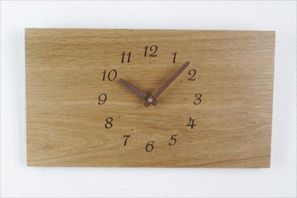 四角い掛け時計 幅36cm Wa36AB-26