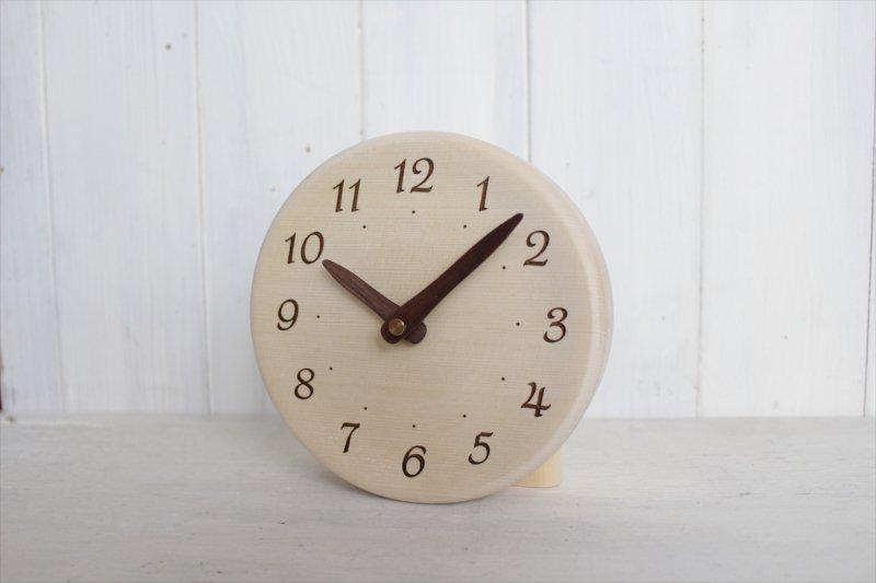 置き時計 直径15cm Wa15AR-00ta