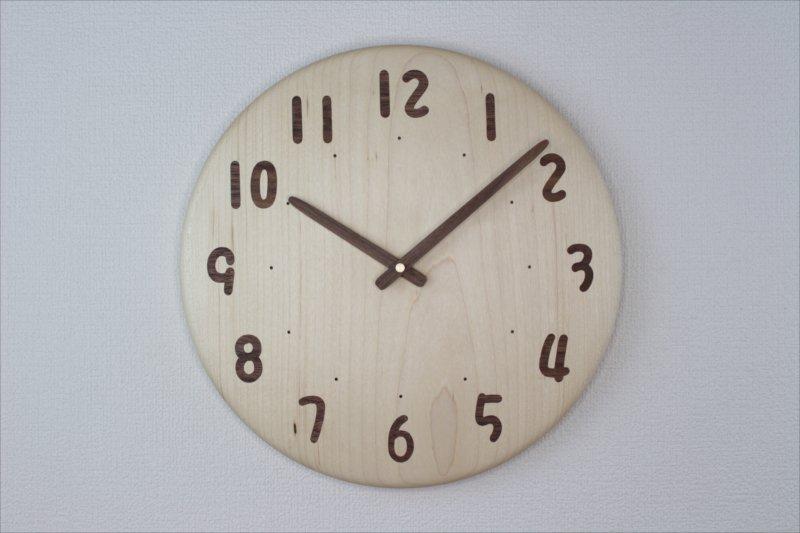 掛け時計 直径30cm Wa30AU-68