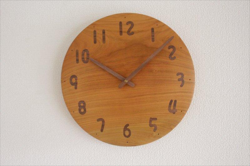 掛け時計 直径30cm Wa30AU-80