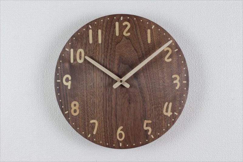 掛け時計 直径30cm Wa30AU-124