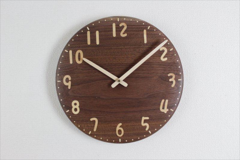 掛け時計 直径30cm Wa30AU-122